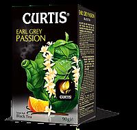 Чай черный со вкусом бергамота нотками ванили и цитрусов Curtis Earl Grey Passion 90 г