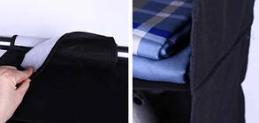 Подвесные полки (модуль в шкаф на 4 полочки) для хранения вещей (Чехол для текстиля), фото 2
