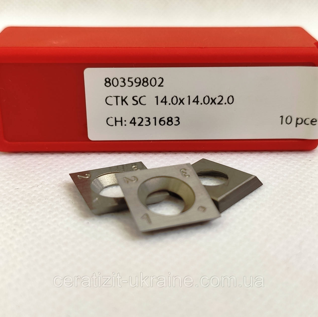 Ніж змінний тб/спл HW 14,0х14,0х2,0 KCR08