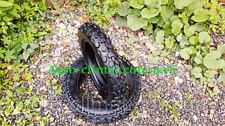 Резина на скутер 3.00-10 бескамерная кросс Moto Tech TL