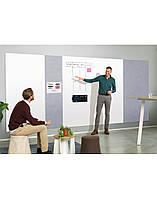 Панель стеновая шумопоглощающая Magnetoplan Infinity Wall X Acoustics Gray 490 x 1980 мм