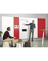 Панель стеновая шумопоглощающая Magnetoplan Infinity Wall X Acoustics Red 490 x 1980 мм