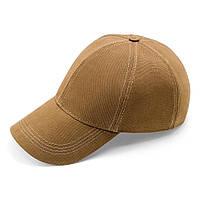 Бейсболка мужская котоновая кепка с регулировкой ATRICS IBK01 55-57 Светло-коричневая