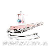 Шезлонг-качалка Kinderkraft Felio Pink, фото 6