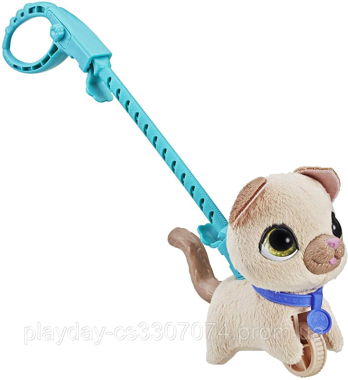 Интерактивная игрушка Hasbro Furreal Friends Walkalots  маленький питомец на поводке котенок