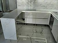 Столешница и барстойка из камня Аквитания Бланка 7200, фото 1