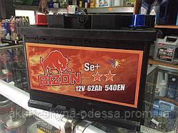 Аккумулятор Bizon 62A 540A (EN) R+