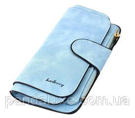 Гаманець жіночий клатч портмоне Baellerry Forever колір блакитний