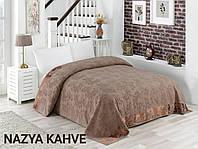 Махрове простирадло бавовна 150*220 (TM Zeron) 450г/м2 Nazya Kahve, Туреччина