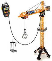 Игрушечный кран на дистанционном управлении 120 см Dickie Toys 3462412 на пульт для детей