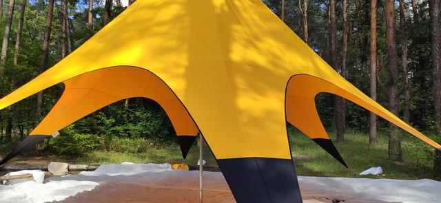 шатер звезда 10