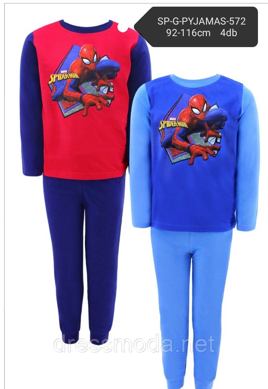 Трикотажная пижама для мальчиков Spider-Man 92-116р.р