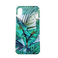 Чехол Fiji для Apple Iphone XS бампер с рисунком Gelius Flowers Shine Jungle