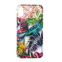 Чехол Fiji для Apple Iphone XS бампер с рисунком Gelius Flowers Shine Tropic