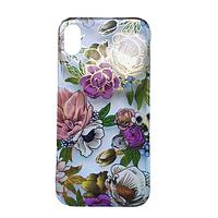 Чехол Fiji для Apple Iphone XS бампер с рисунком Gelius Flowers Shine Rose