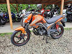 Мотоцикл Spark SP200R-27 (оранжевый)