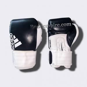 """Боксерські рукавички Adidas """"Hybrid 200"""" (чорно-білий, ADIH200)"""