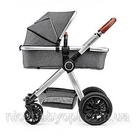 Универсальная коляска 2 в 1 Kinderkraft Veo Gray