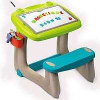 Детская парта с доской для рисования 2 в 1 SMOBY 420103 для детей