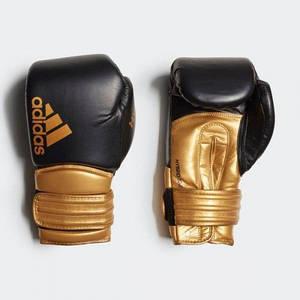 Боксерські рукавички Adidas Hybrid 300 Колір чорний, золото