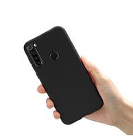Чехол силиконовый Realme С3 черный (реалми С3)