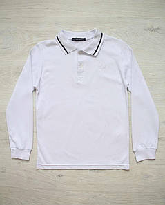 Поло для мальчика белое ADA YILDIZ 8038 размер 158