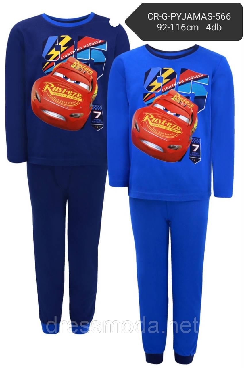 Пижамы для мальчиков Cars 92-116р.р