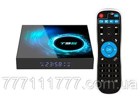 Смарт ТВ приставка для телевизора на андроиде Transpeed T95 4/64Gb