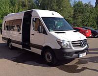 Аренда, заказ микроавтобуса Mercedes Sprinter, 21 мест, 2014 год выпуска.