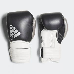 """Боксерські рукавички Adidas """"Hybrid 300"""" (чорний/срібло, ADIH300)"""