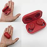 Бездротові навушники блютуз гарнітура Bluetooth 5.0 навушники Wi-pods DX33 з зарядним кейсом Оригінал. Червоні, фото 5