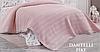 Вафельная простынь DO&GO Pike Somon хлопок 220-240 см пудровый