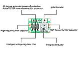 Понижающий стабилизатор напряжения  MP2307 (mini 360) регулируемый, фото 4