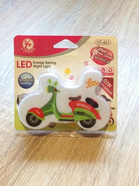 """Ночник детский Night Light Led №100-2 с переключателем """"Мотоцикл"""""""
