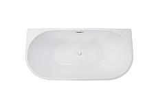 Ванна отдельно стоящая Vica 170x80 см с сифоном BESCO PMD AMBITION, фото 2