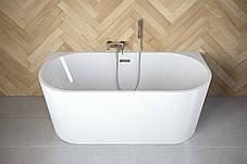 Ванна отдельно стоящая Vica 170x80 см с сифоном BESCO PMD AMBITION, фото 3