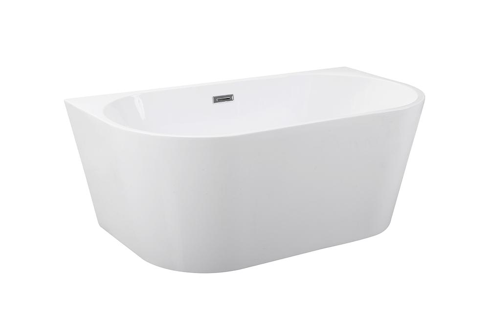 Ванна отдельно стоящая Vica 170x80 см с сифоном BESCO PMD AMBITION