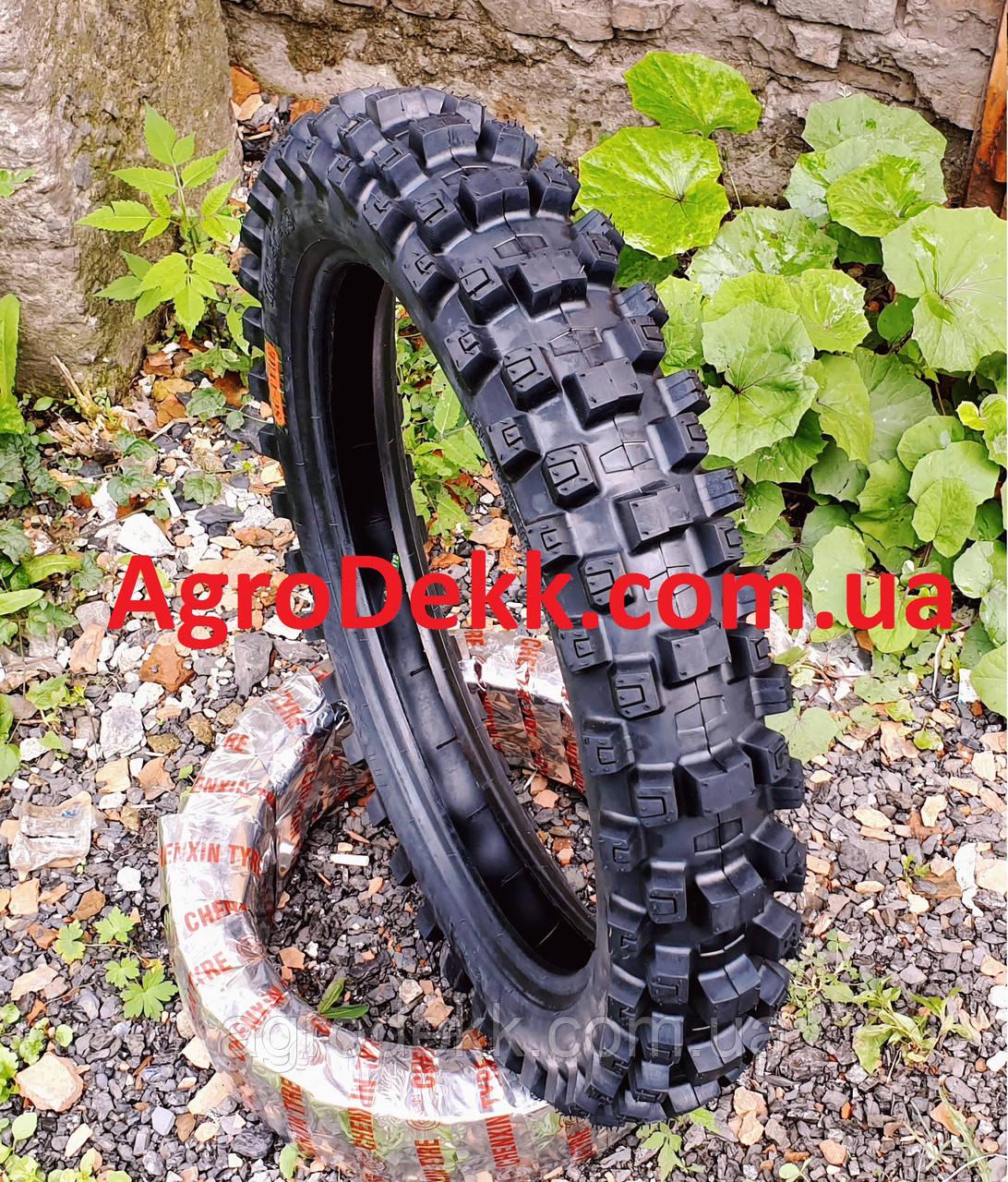 Резина  на мотоцикл 110/90-19 камерная кроссовая