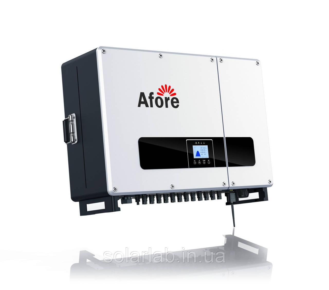 Мережевий інвертор Afore BNT060KTL (60 кВт, 3-фазний, 3 МРРТ)