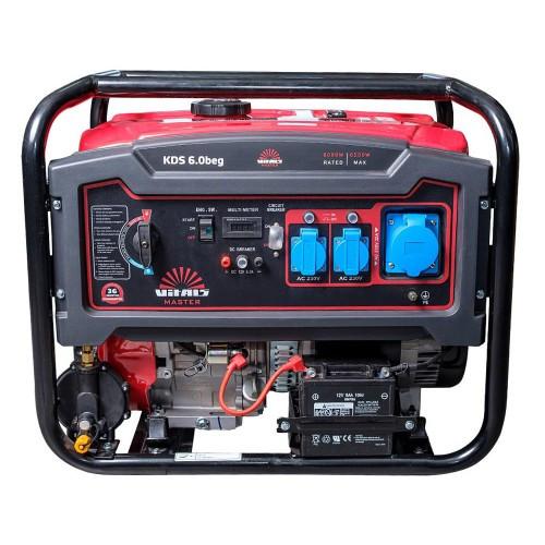 Генератор комбинированный газ/бензин Vitals Master KDS 6.0beg 6 кВт