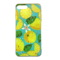 Чехол Fiji для Apple Iphone 7 Plus бампер с рисунком Summer Fruit Lemon