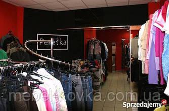 Кованое торговое оборудование для бутиков одежды