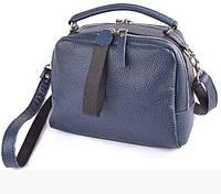 Женская синяя сумка из натуральной кожи HML20702 blue, фото 1