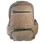 Брезентовый(джинсовый) большой рюкзак Aoking, фото 2