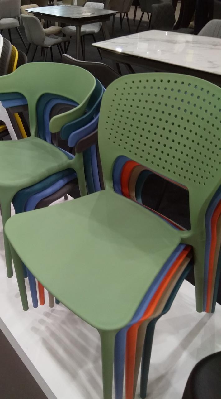 Пластиковый стул SPARK (Спарк) зеленая мята от Concepto