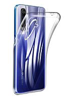 Чехол силиконовый Realme 6/6S ультратонкий прозрачный (реалми 6/6с)