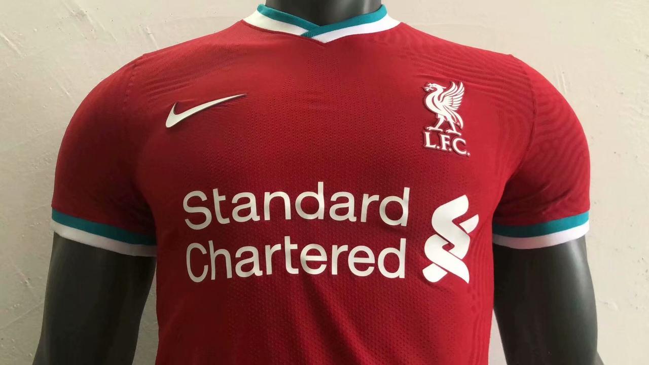 Футболка Ливерпуля Liverpool аутентичная 2020-21