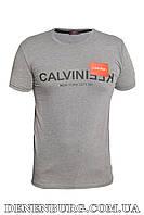 Футболка мужская CALVIN KLEIN 20-Y-8108 тёмно-серая, фото 1