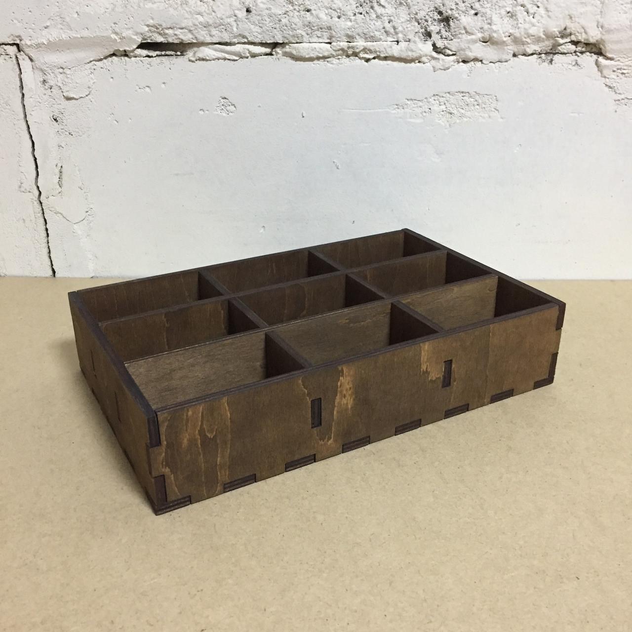 """Подставка для чайных пакетиков на 9 ячеек """"Палисандр"""""""
