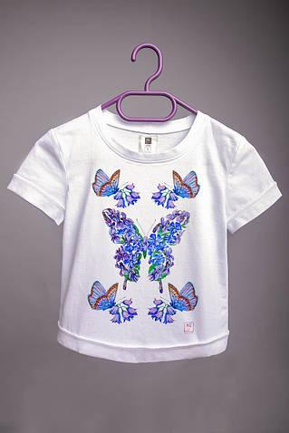 Детская футболка с принтом Бабочки